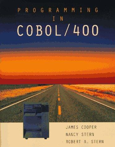 9780471127222: Programming in Cobol/400