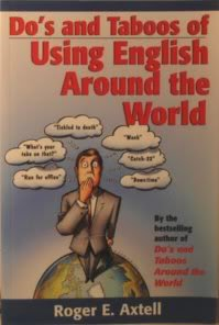 9780471127352: Dos and Taboos of Using English Around The World