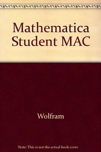 9780471127642: Mathematica Student MAC