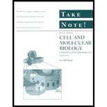 9780471127758: Cell and Molecular Biology: WITH Take Note: Concepts and Experiments