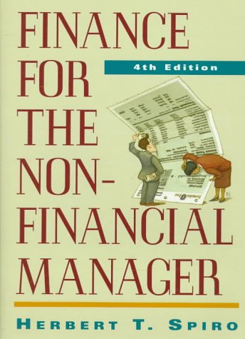 9780471127765: Finance for the Nonfinancial Manager