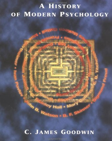 9780471128052: A History of Modern Psychology