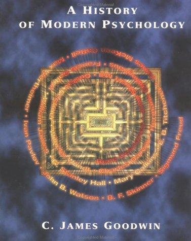 9780471128052: A History of Modern Psychology