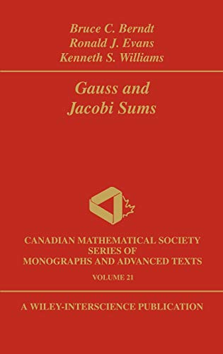9780471128076: Gauss and Jacobi Sums