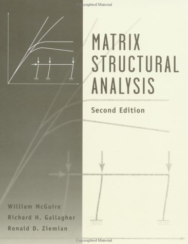 9780471129189: Matrix Structural Analysis
