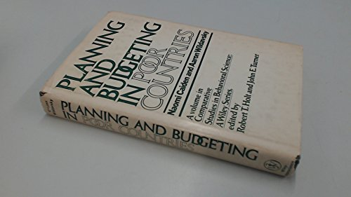 9780471129257: Planning and Budgeting in Poor Countries (Comparative studies in behavioral science)