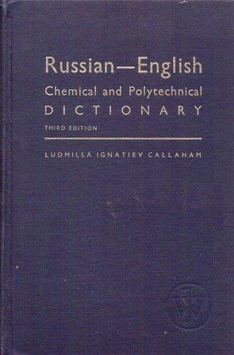 Russian-English Chemical and Polytechnical Dictionary