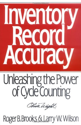 9780471132240: Inventory Record Accuracy: Unleashing the Power of Cycle Counting