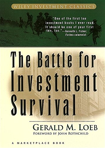 9780471132974: The Battle for Investment Survival (A Marketplace Book)