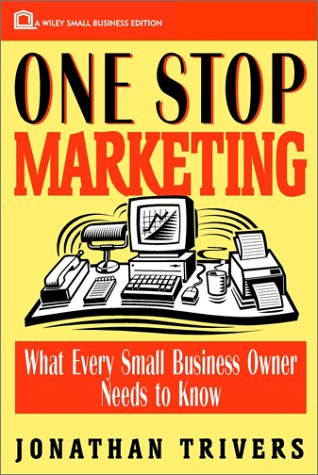 9780471133322: One Stop Marketing (Wiley Small Business Edition)