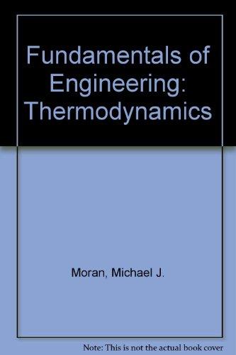 9780471134145: Fundamentals of Engineering: Thermodynamics