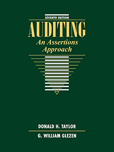 9780471134213: Auditing: An Assertions Approach