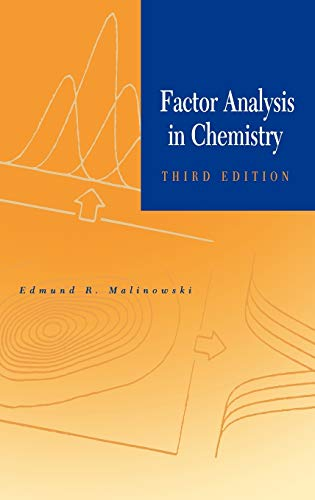 9780471134794: Factor Analysis in Chemistry