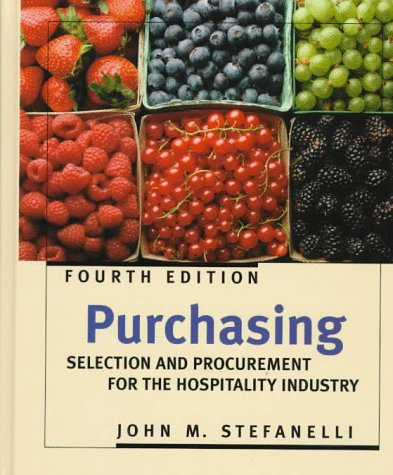 9780471135838: Purchasing: Selection and Procurement for the Hospitality Industry (Wiley Service Management Series)