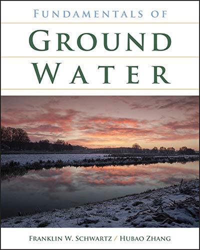 9780471137856: Fundamentals of Ground Water