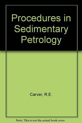 9780471138556: Procedures in Sedimentary Petrology