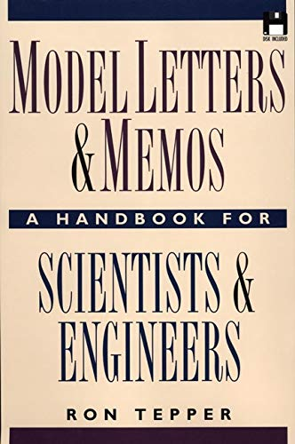 9780471139171: Model Letters and Memos: A Handbook for Scientists and Engineers