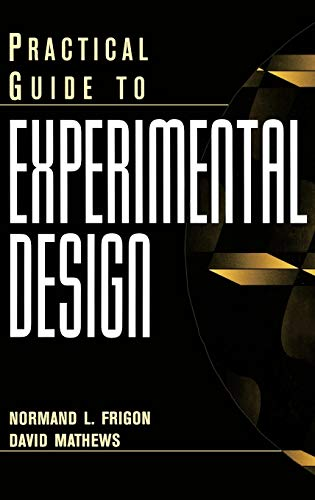 9780471139195: Practical Guide to Experimental Design
