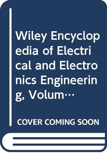 9780471139454: Wiley Encyclopedia of Electrical and Electronics Engineering (Volume 6)