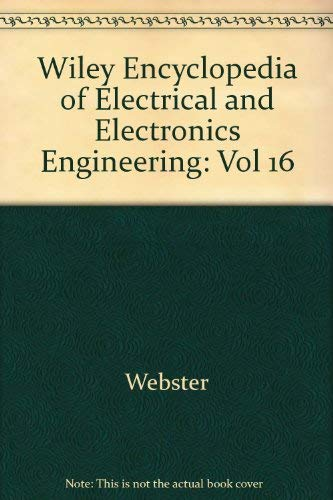 9780471139577: Wiley Encyclopedia of Electrical and Electronics Engineering (Volume 16)
