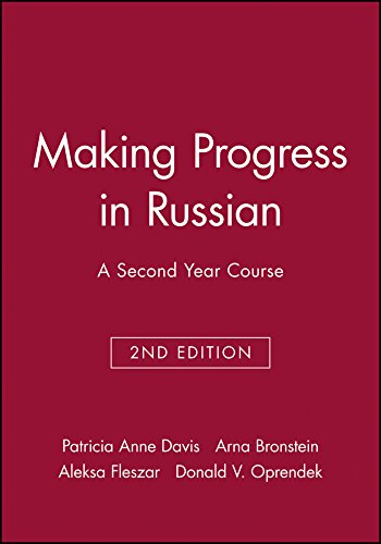 9780471141150: Making Progress in Russian: Written and Conversational Practice: A Second Year Course