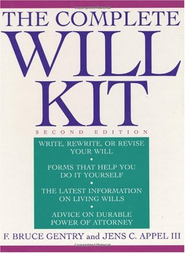 9780471141389: The Complete Will Kit