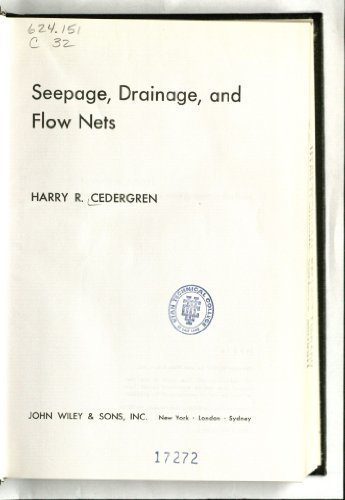 9780471141808: Seepage, Drainage and Flow Nets