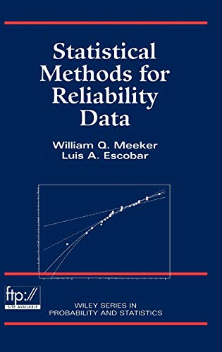 9780471143284: Statistical Methods for Reliability Data