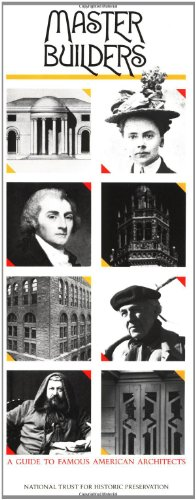 9780471144021: Master Builders: A Guide to Famous American Architects