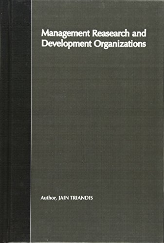9780471146131: Management of Research and Development Organizations: Managing the Unmanageable