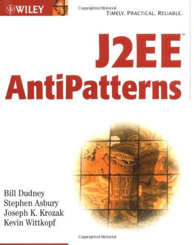 9780471146155: J2EE Antipatterns