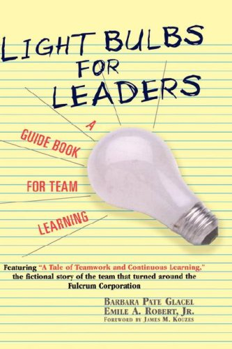 9780471146636: Light Bulbs for Leaders: A Guide Book for Team Learning
