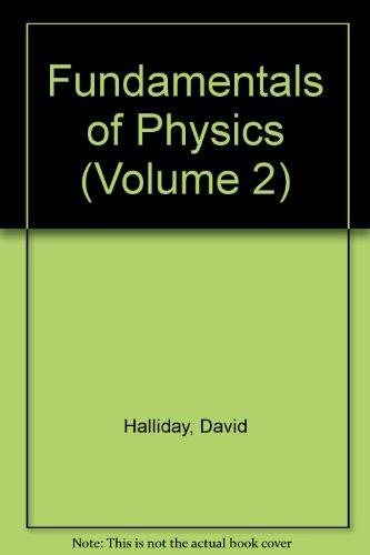 9780471147329: Fundamentals of Physics (Volume 2)