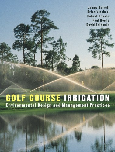 9780471148302: Golf Course Irrigation: Environmental Design and Management Practices