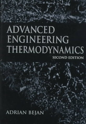 9780471148807: Advanced Engineering Thermodynamics (A Wiley-Interscience publication)