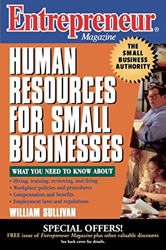 Entrepreneur Magazine Human Resources for Small B