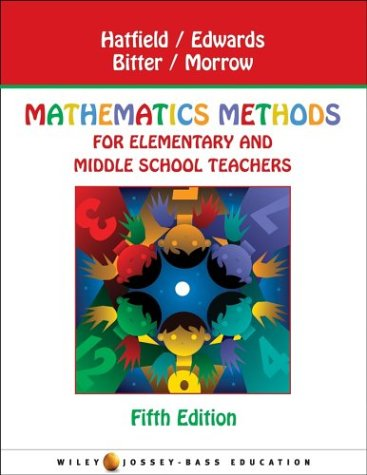 9780471149835: Mathematics Methods for Elementary and Middle School Teachers