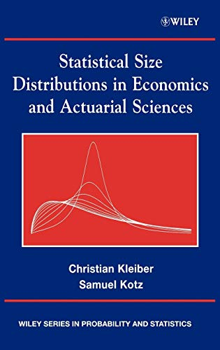 9780471150640: Statistical Size Distributions in Economics and Actuarial Sciences