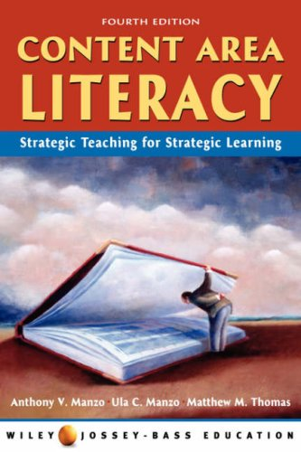 9780471151678: Content Area Literacy: Strategic Thinking for Strategic Learning