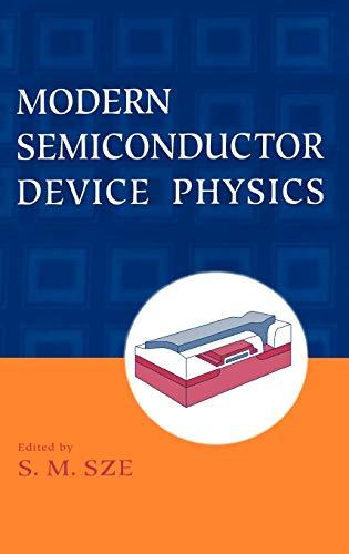 9780471152378: Modern Semiconductor Device Physics
