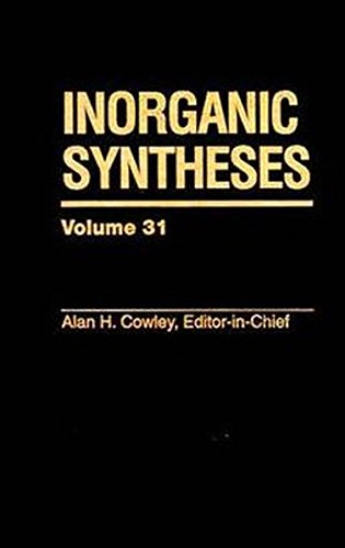 Inorganic Syntheses: v.31 (Hardback)