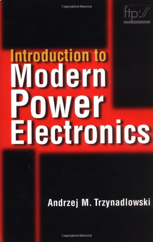 9780471153030: Introduction to Modern Power Electronics