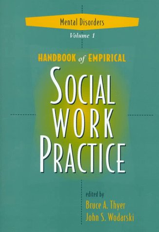 9780471153610: Handbook of Empirical Social Work Practice, Volume 1: Mental Disorders