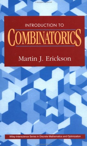 9780471154082: Introduction to Combinatorics (Wiley Series in Discrete Mathematics and Optimization)