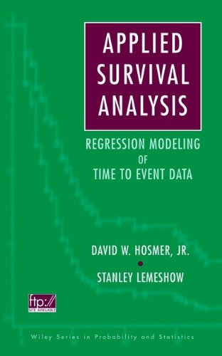 9780471154105: Applied Survival Analysis: Time-to-Event (Wiley Series in Probability and Statistics)