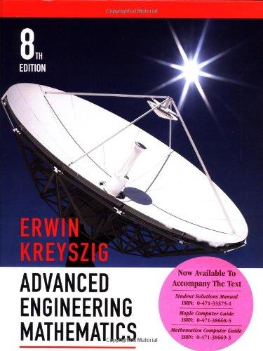 Advanced Engineering Mathematics: Erwin Kreyszig
