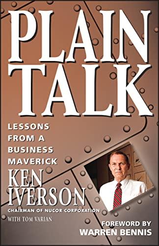 9780471155140: Plain Talk: Lessons from a Business Maverick