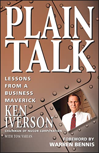 9780471155140: Plain Talk: Lessons from a Business Maverick