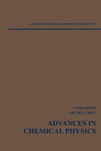 Advances in Chemical Physics: Vol.96 (Hardback): Ilya Prigogine