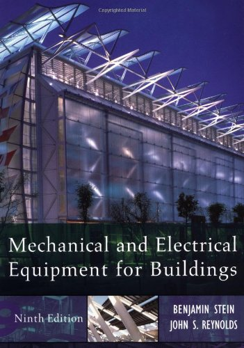 9780471156963: Mechanical and Electrical Equipment for Buildings (Mechanical & Electrical Equipment for Buildings)